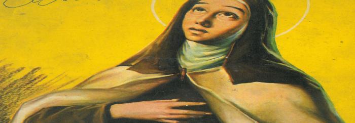 """04. María Luisa MORA (1959).""""Santa Tersa de Jesús"""". Barcelona : Exclusivas Ferma."""