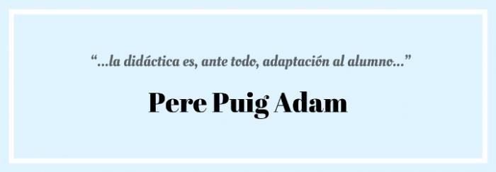 Cita Pere Puig Adam 1