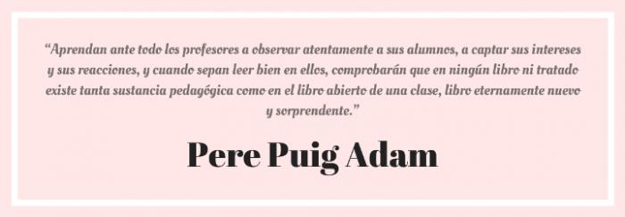 Cita Pere Puig Adam 2