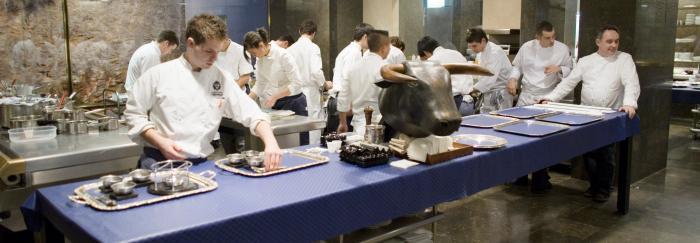 cuina del restaurant el Bulli