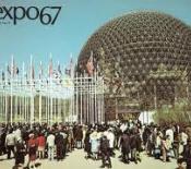 Cúpula geodèsica de l'edifici dels Estats Units en l'Exposició Universal de Montreal (1967)