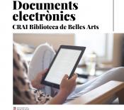 Documents electrònics al CRAI Belles Arts