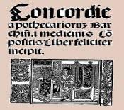 Concordie apothecariorum Barchinone: 500 anys