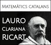 Matemàtics catalans: Lauro Clariana