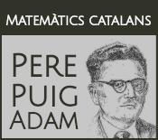 Matemàtics catalans: Per Puig Adam