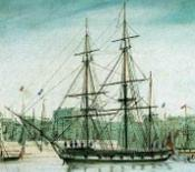 HMS Beagle (fragment), d'R. T. Pritchett 1828-1907 (de la Wikipedia)
